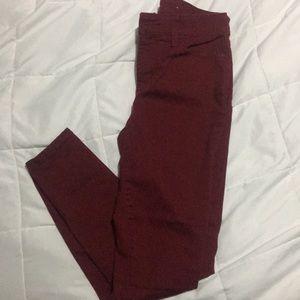St. John's Bay skinny leg pants